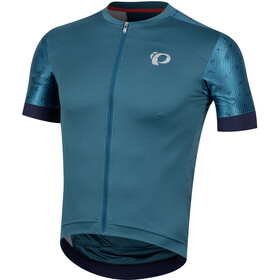 PEARL iZUMi Elite Pursuit Speed Maillot Hombre, teal/navy paisley